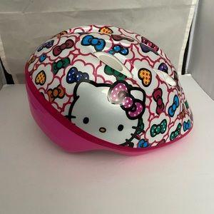 Hello Kitty toddler bike safety helmet
